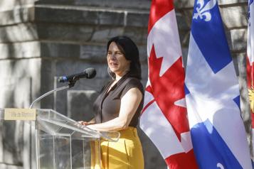 Statu quo à Ottawa Un «besoin de stabilité», selon ValériePlante)