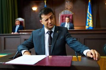 La Russie diffuse la série mettant en vedette le président ukrainien