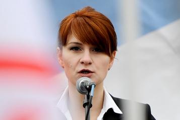 Maria Butina, agente russe coupable d'ingérence, va sortir de prison
