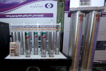 Capacités nucléaires L'Iran presque prêt à produirede l'uranium enrichi à 60% )
