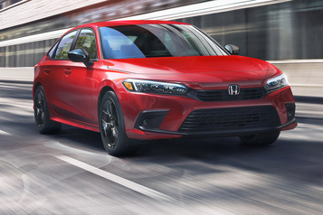 Honda Civic2022 Changements dansla continuité)