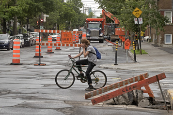 Rosemont: les aménagements cyclables divisent commerçants et résidants)