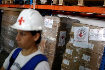 Venezuela: arrivée d'une 4e cargaison d'aide de la Croix-Rouge