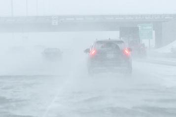Le sud du Québec sous la neige