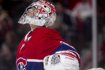Nate Thompson absent, Carey Price en poste
