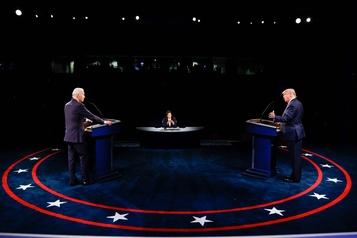 Dernier débat Trump-Biden Plus courtois, mais pas deK.-O.)
