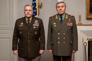 Rencontre des chefs d'état-major américain et russe à Helsinki)