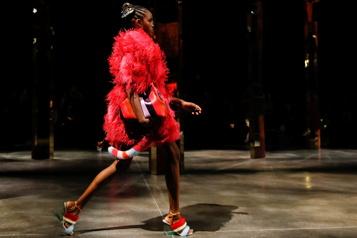 Milan Le glamour disco de Fendi ouvre la semaine de la mode)