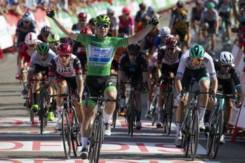 Tour d'Espagne Fabio Jakobsen s'offre une troisième victoire pour son anniversaire)