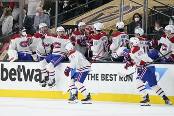 Canadien3 – Golden Knights2 Le Canadien remporte le deuxième match et crée l'égalité dans la série)