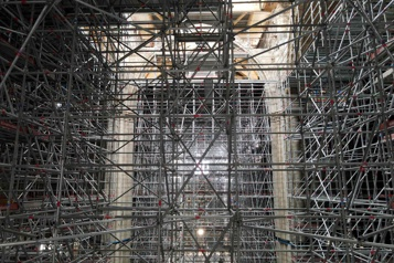 Fin des travaux de sécurisation de Notre-Dame de Paris)