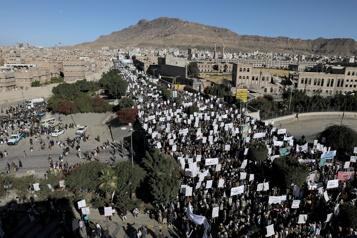 Yémen Nouvelle manifestation antiaméricaine à Sanaa)