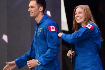 Deux Canadiens décrochent leurdiplôme d'astronaute