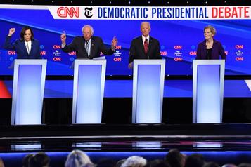 Trump et Warren, cibles du débat démocrate
