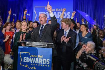 La Louisiane réélit son gouverneur démocrate