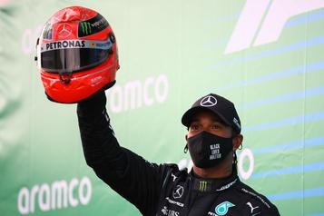 Grand Prix du Portugal Hamilton pour le record absolu de victoires)