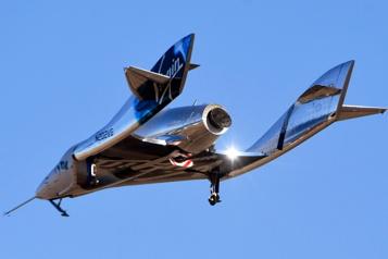 Incident de vol en juillet Le vaisseau spatial de Virgin Galactic cloué au sol par les autorités américaines)