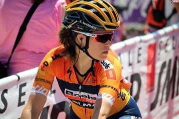 La coéquipière de Karol-Ann Canuel remporte le GiroRosa)