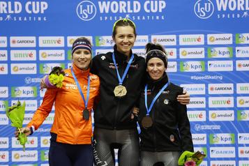 Patinage de vitesse longue piste: trois médailles pour le Canada