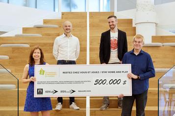 850 000$ pour la COVID-19)