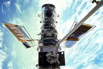 Le télescope spatial Hubble à l'arrêt depuis plusieurs jours)