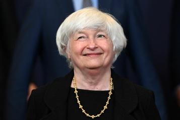 États-Unis Yellen presse le Congrès de relever le plafond de la dette américaine)