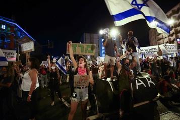 Israël adopte une loi pour limiter les manifestations lors du reconfinement)