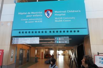 1,6 million pour l'Hôpital de Montréal pour enfants)