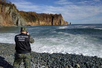 Kamtchatka: une nappe de pollution de 40km de long à la dérive sur l'océan)