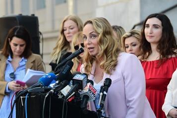 Des accusatrices de Weinstein l'attendent de pied ferme à Los Angeles