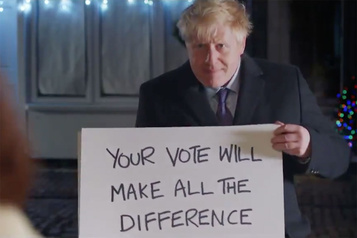 Boris Johnson parodie Love Actually et choque Hugh Grant