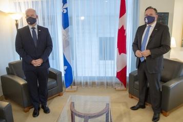 Le gouvernement Legault redouble devigilance)