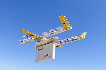 Wing progresse dans la livraison par drone