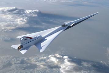 Un avion silencieux... et sans hublot avant
