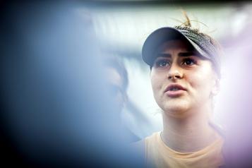 Bianca Andreescu se retire des Internationaux des États-Unis)