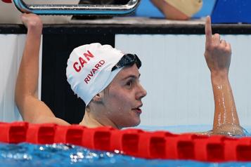 Paranatation Médaille d'or et record du monde pour Aurélie Rivard)