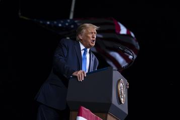 Donald Trump en campagne en Floride, Géorgie et Virginie)