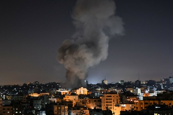 Raids aériens israéliens sur Gaza, violences en Cisjordanie)