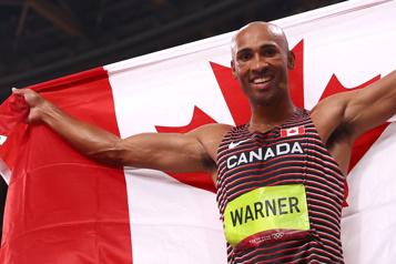 Le Canadien Damian Warner gagne l'or au décathlon)