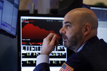 Wall Street voit rouge à l'ouverture