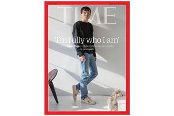 L'acteur trans Elliot Page se confie au Time )