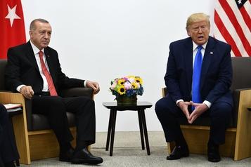 Trumpassure qu'Erdogan est déterminé à appliquer la trêve en Syrie