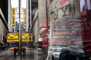 Les spectacles reprendront sur Broadway en septembre)