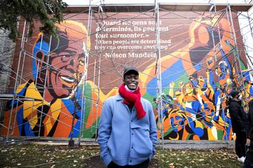 Hommage coloré à Nelson Mandela)