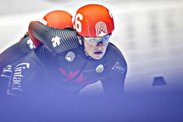 Championnats canadiens Pascal Dion et Kim Boutin remportent le 1000mètres