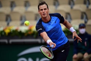 Vasek Pospisil est éliminé à Roland-Garros)