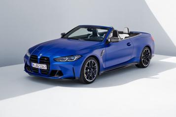 BMW Voici la M4 décapotable!)