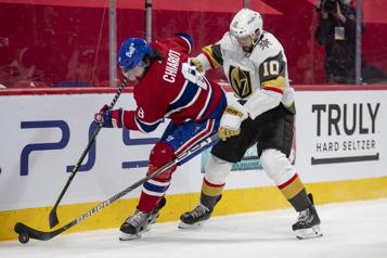 2e période Golden Knights 1 - Canadien 1)