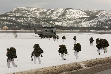 COVID-19 La Norvège annule des exercices militaires interalliés dans l'Arctique)