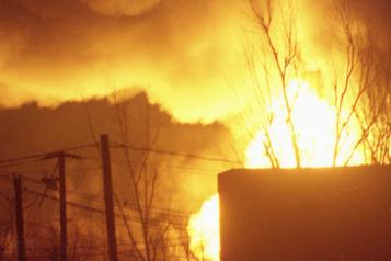 Restaurant incendié à Saint-Esprit